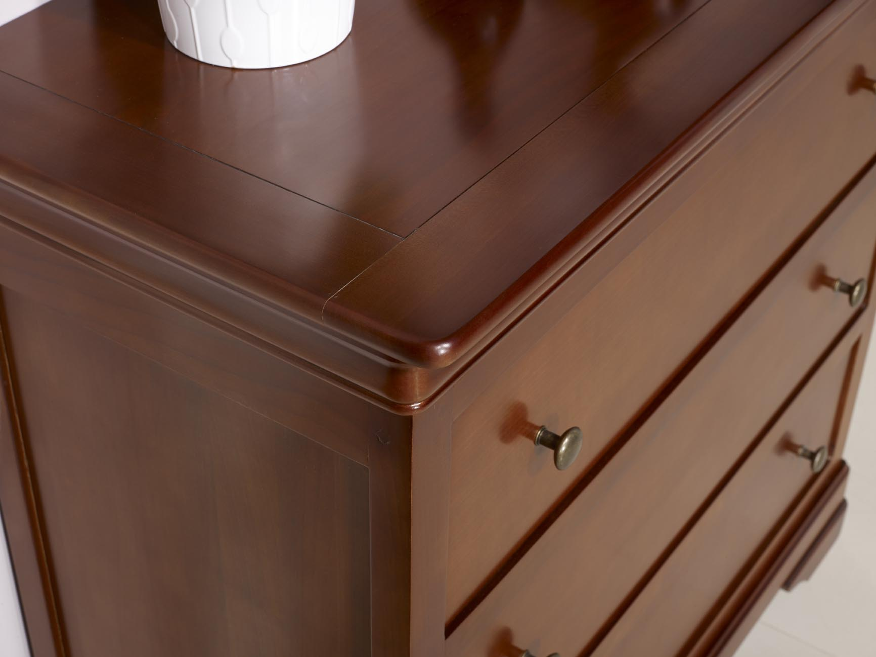 Commode Petite Profondeur 30 Cm commode 3 tiroirs amélie réalisée en merisier massif de style louis  philippe profondeur 48 cm