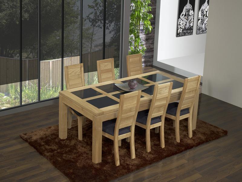 Best Table Ardoise Bois Pictures - House Design - marcomilone.com