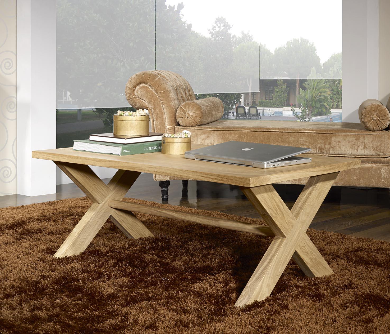 Table Basse Rectangulaire Jules Realisee En Chene De Style