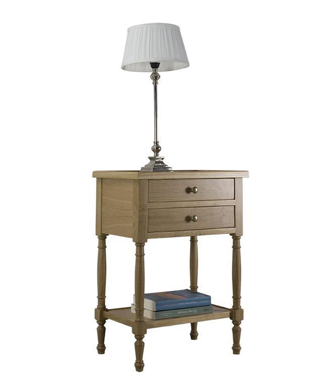 Table de d'appoint Jean-Lou  en Chêne de style Louis Philippe