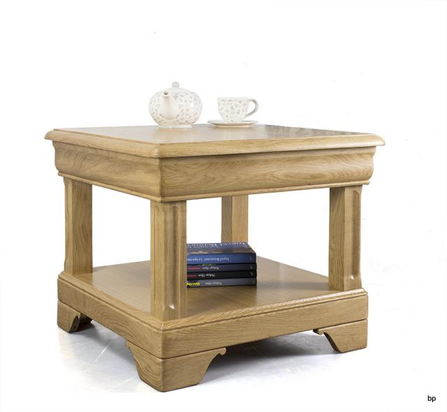 Style Louis De Petite Ines 1 En Table Tiroir Chêne Basse Philippe E9HIW2D