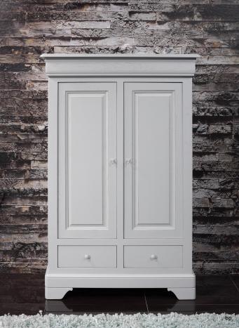 Bassette 2 portes 3 tiroirs  en Chêne Massif de style Louis Philippe BONNE AFFAIRE 1 DISPONIBLE