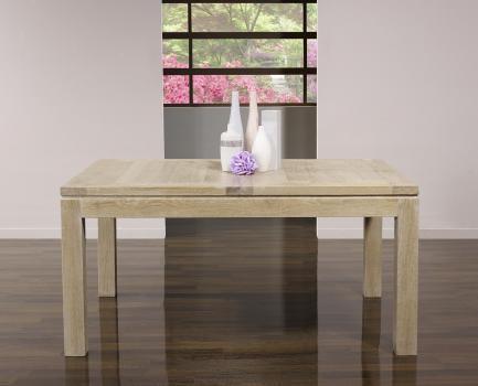 Table de repas rectangulaire Simon 160X120   en Chêne Ligne Contemporaine
