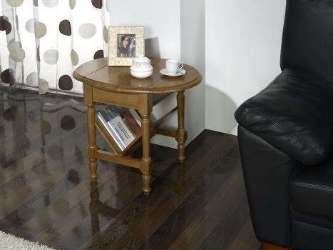 Table Basse ou Bout de Canapé Marc-Eric, réalisée en Chêne de style Louis Philippe