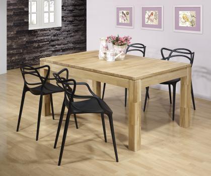 Table de repas rectangulaire 160X100 Ecolo réalisée en Chêne Ligne Contemporaine