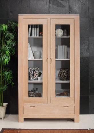 Bibliothèque 2 portes Adriana en Chêne CONTEMPORAINE   Bonne Affaire 1 disponible