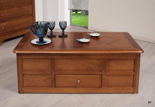 Table Bar Claire réalisé en Merisier de style Louis Philippe