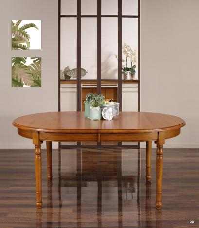 Table ovale 170x110  en Chêne massif de style Louis Philippe avec 3 allonges de 40 cm Chêne doré patine antiquaire  BONNE AFFAIRE 1 DISPONIBLE