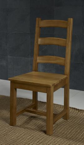 Chaise en Chêne Massif de style Campagnard ASSISE CHENE