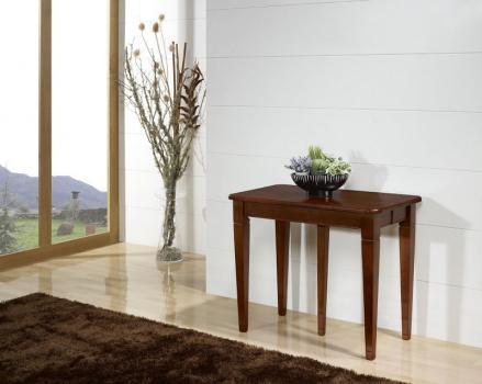 Console ou table Extensible Céline réalisée en Merisier de style Louis Philippe